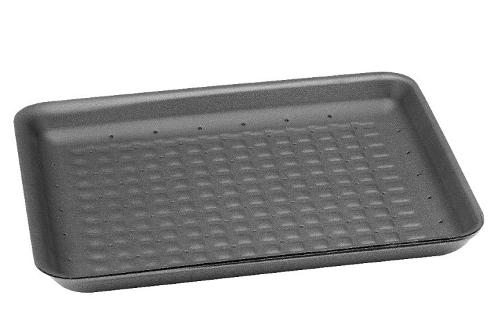 Plix Absorbent Food Tray Black