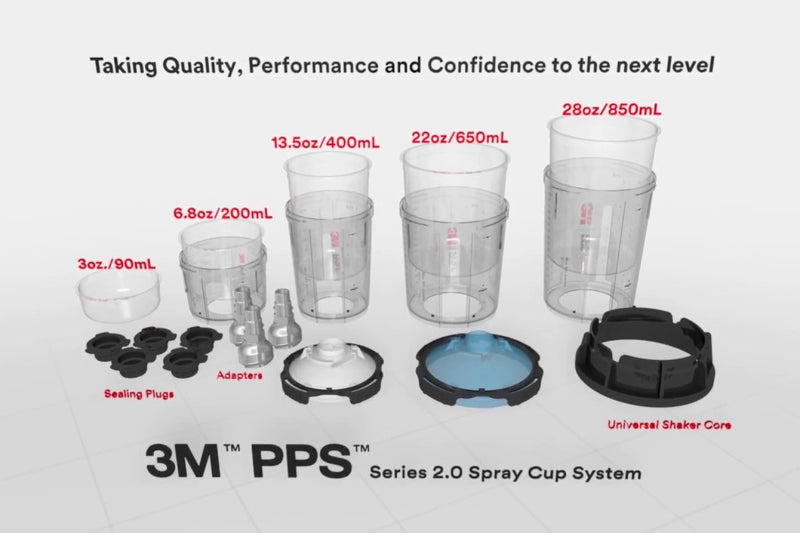 3M PPS 2.0 Spray Cup System
