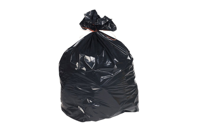 Rubbish Bags Heavy Duty Black