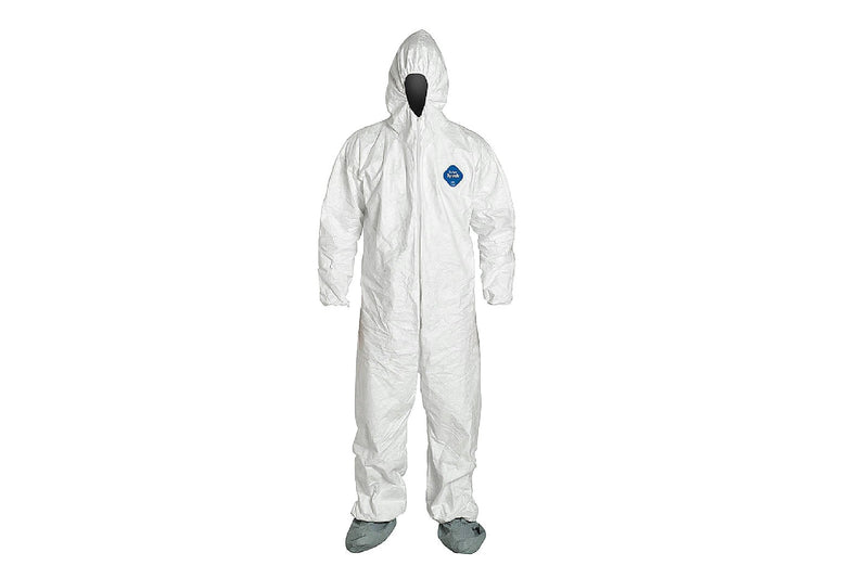 Tyvek Barrier Man Coverall White