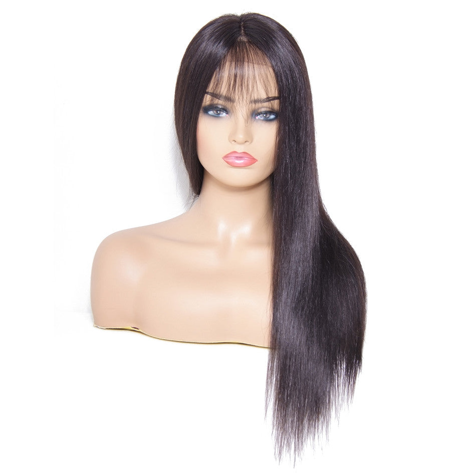 lace front straight hair wigs