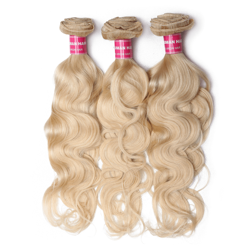 DONMILY Malaysian Blonde Hair Color 613 Body Wave Bundles 100% Remy Human Hair Weaving 3pcs/lot Free Shippping