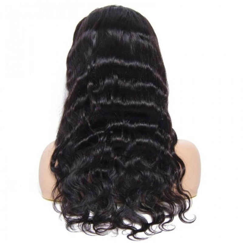 High Density Body Wave Lace Front Human Hair Wigs