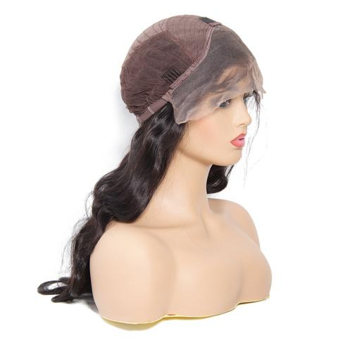 Peruvian Body Wave Lace Front Wig Cap