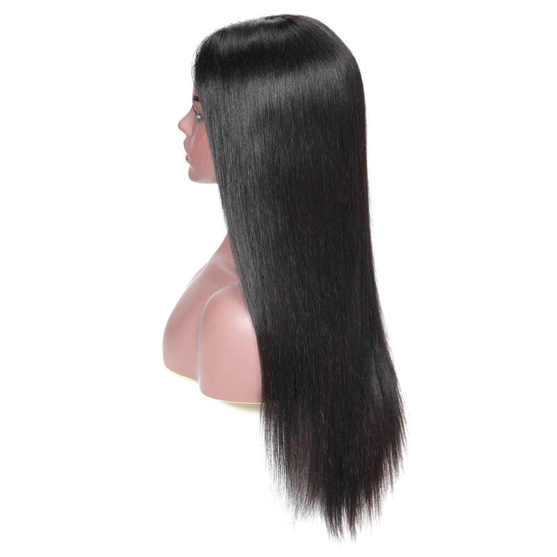 Straight Hair 150% Density 13*6 Lace Front Human Hair Wig With Baby Hair 12-28 Inches-Donmily Hair