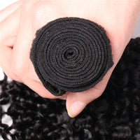 1 Piece Kinky Curly Hair Weave, Kinky Curly Hair Bundle, Human Hair Weaving For Sale-Donmily Hair