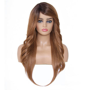 Donmily Mermaid Synthetic Wigs Side Part Long Synthetic Wig