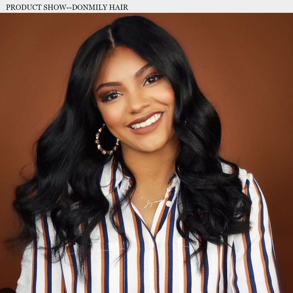 Donmily Hair- Peruvian Virgin Body Wave 4 Bundles Deals