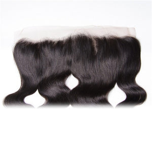 Body Wave Lace Frontal Closure Deals, 13*4 Ear to Ear, Free Part, 100% Virgin Human Hair