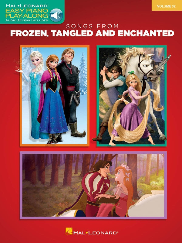 Songs from Frozen, Tangled and Enchanted - Easy Piano