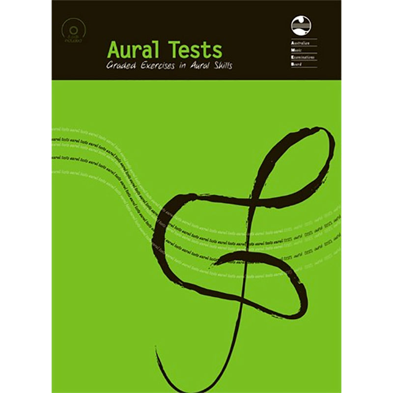AMEB Aural Tests Book and 6 CD set 2002 Edition - Current