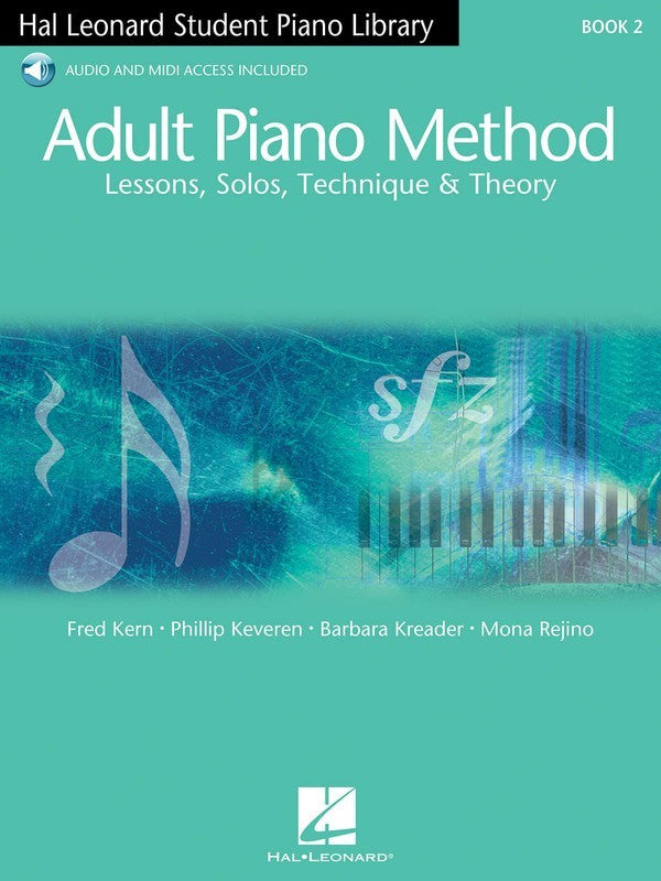Adult Piano Method Book 2 - Book with Online Audio