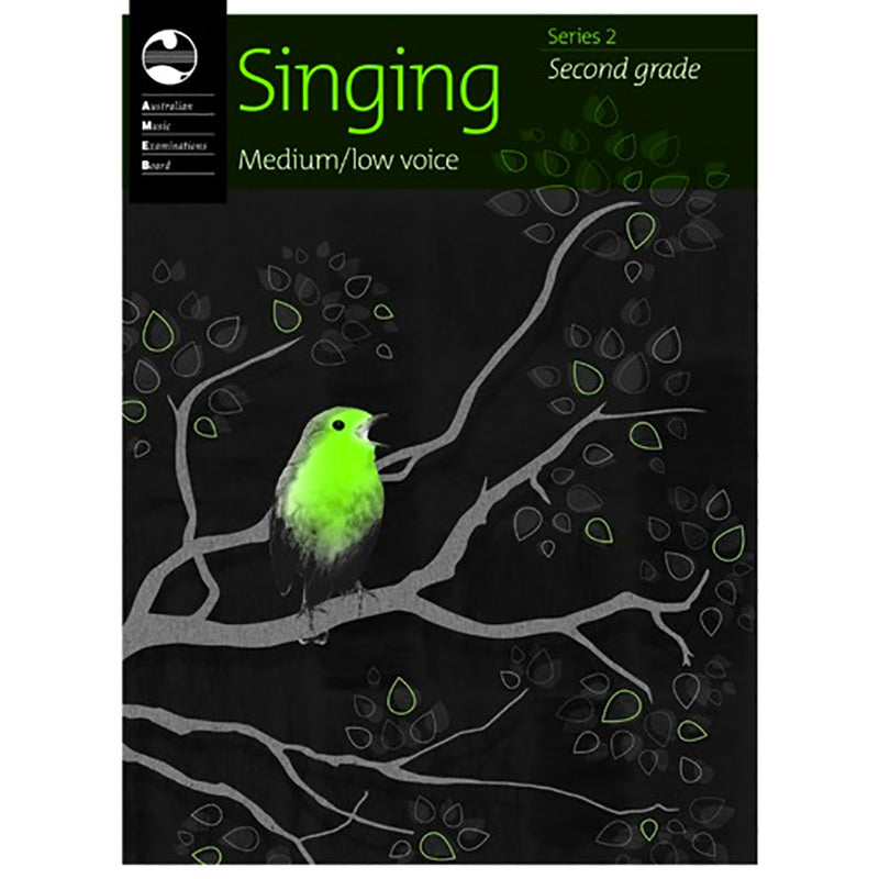 AMEB Singing Series 2 Grade 2 - Medium / Low Voice