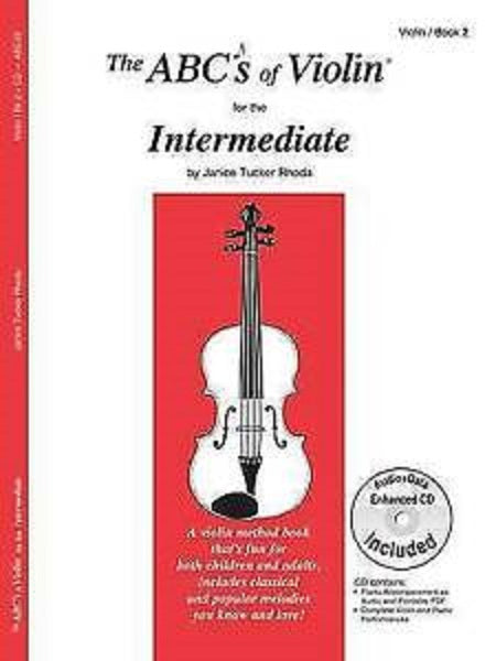 The ABC's of Violin for the Intermediate - Book 2 by Rhoda