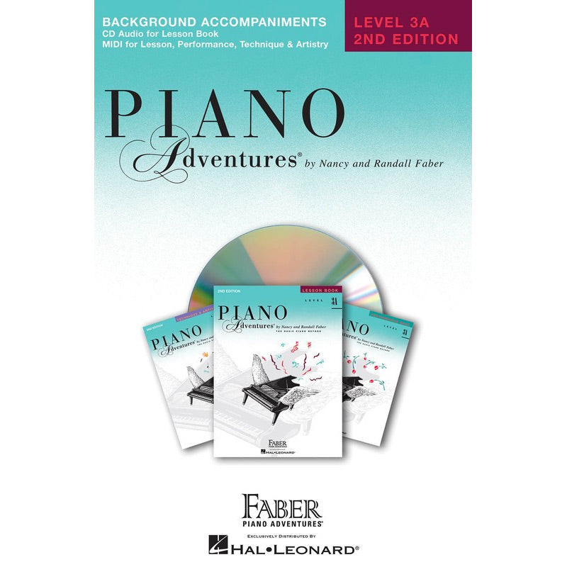 Piano Adventures Level 3A - Lesson Book / CD