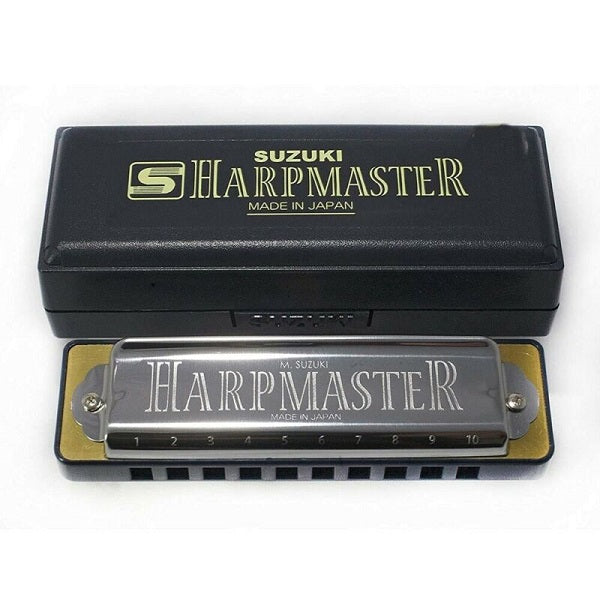 Suzuki Harpmaster MR-200 Harmonica  -ALL KEYS