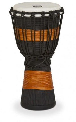 Toca 8 inch Djembe Black/Brown