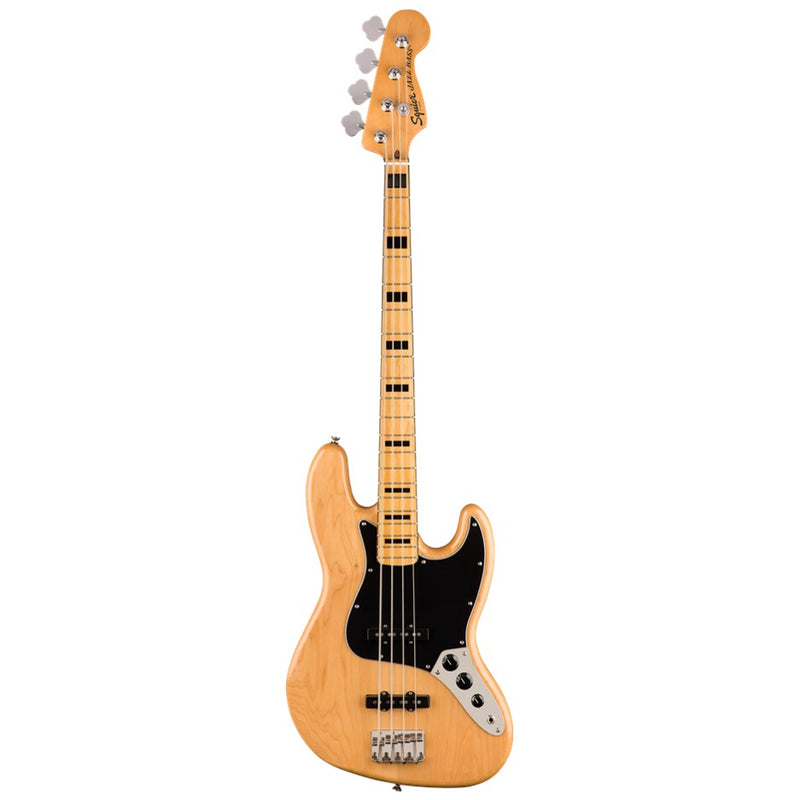 Squier by Fender '70s Classic Vibe Jazz Bass - Natural
