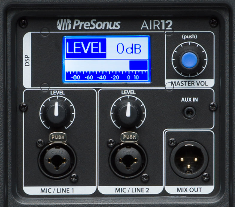 PreSonus AIR12 1200W Active Speaker (with FREE TOTE BAG) ex demo