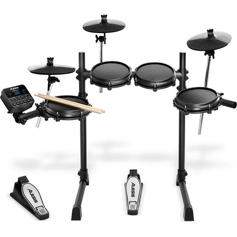 Alesis Turbo Mesh: 5-Pce E-Kit with Kick Pedal