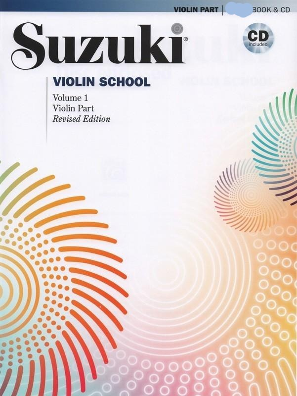 Suzuki Violin School Vol. 1 Violin Part (International) w/cd