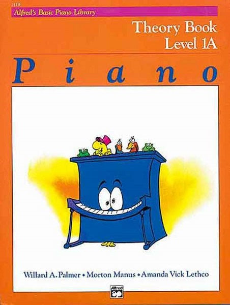 Alfred's Basic Piano Course: Theory Book 1A