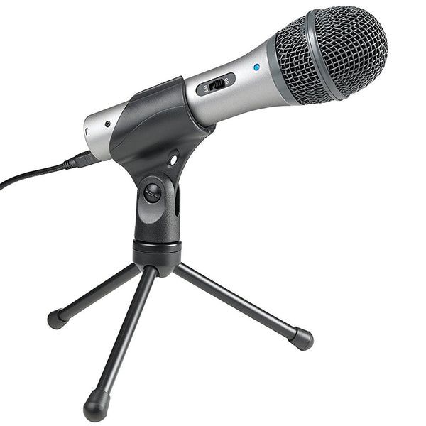 Audio-Technica ATR2100-USB Cardioid Dynamic USB/XLR Microphone - Out of Stock