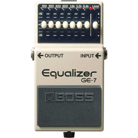 Boss GE-7 7 Band Graphic EQ Pedal