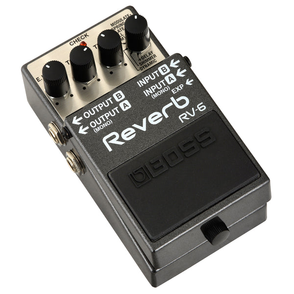 Boss RV-6 Digital Reverb Effect Pedal