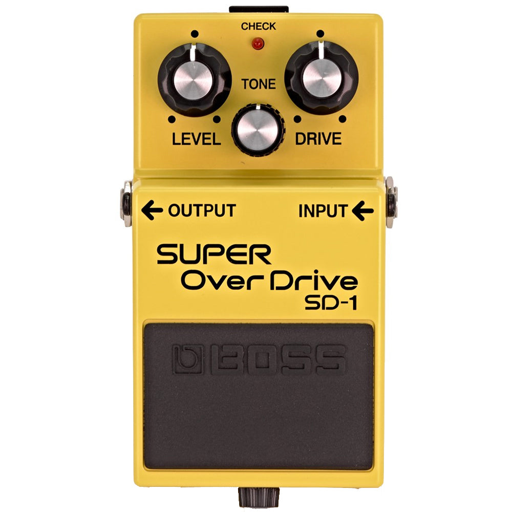 Boss SD-1 Super Overdrive Effect Pedal with Tone Control