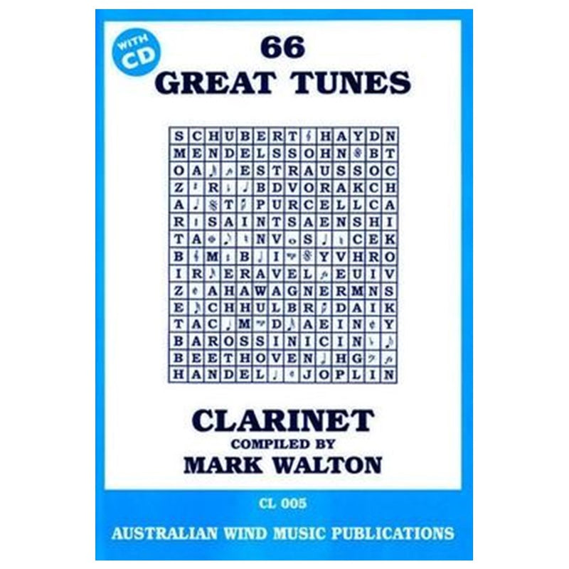 66 Great Tunes  - Clarinet w/cd