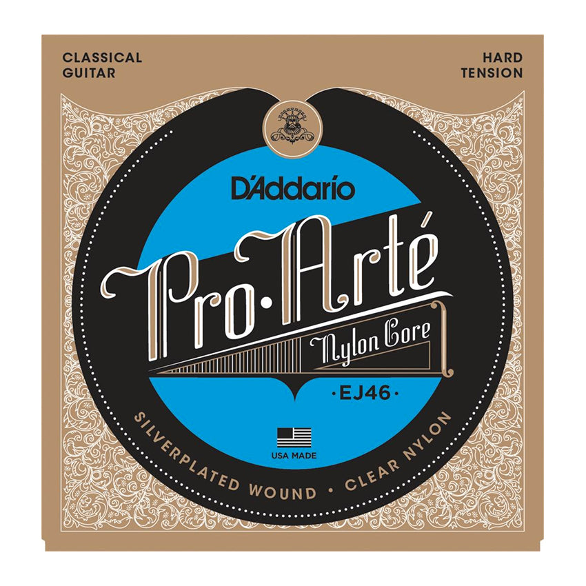 D'Addario EJ46 Pro-Arté Nylon, Hard Tension