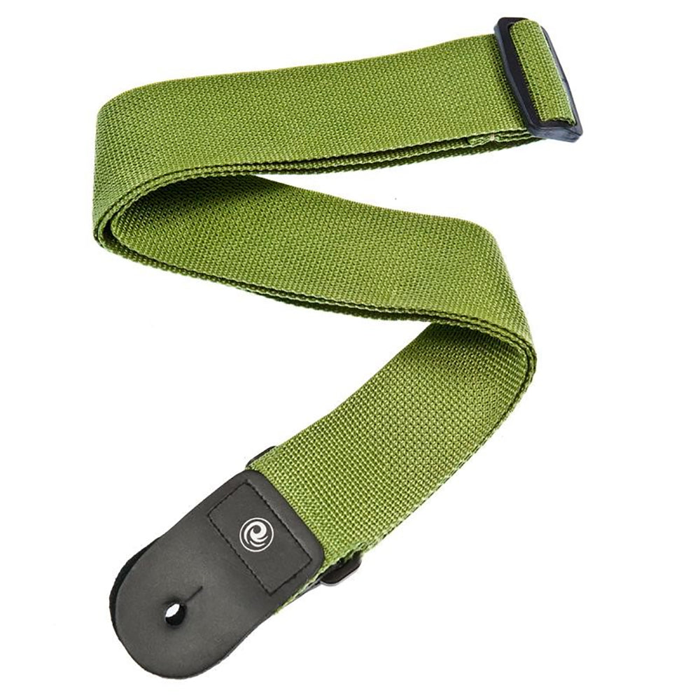D'Addario Planet Waves PWS107 Polypropylene Guitar Strap, Green