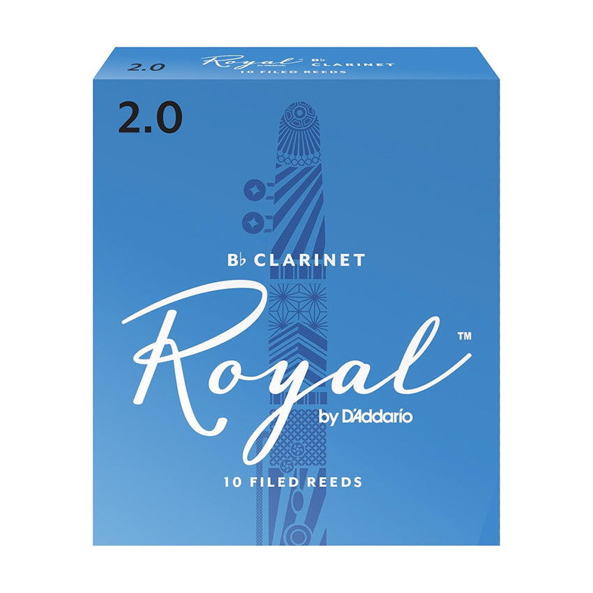 Royal by D'Addario Bb Clarinet Reeds (ALL STRENGTHS)