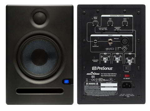 PreSonus E5 80W Active Studio Monitor (Price per pair)