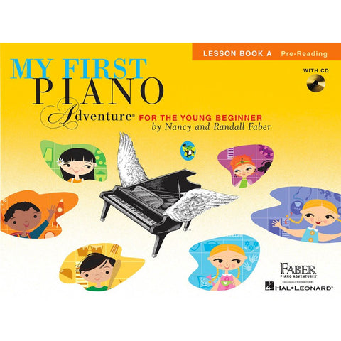 My First Piano Adventure - Lesson Book A with CD
