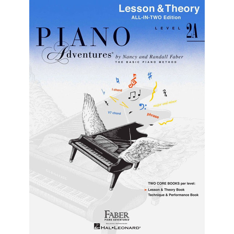 Piano Adventures All-In-Two Level 2A - Lesson and Theory Book