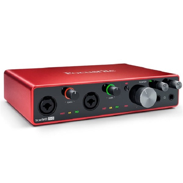 Focusrite Scarlett 8i6 Gen 3 8-in/6-out USB Audio Interface
