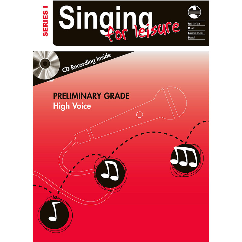 AMEB Singing for Leisure Series 1 Preliminary Grade - High Voice