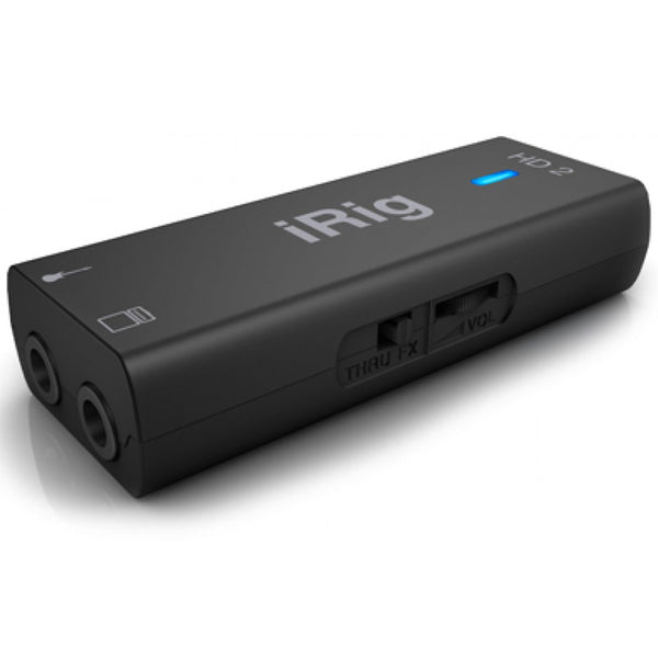 IK Multimedia iRig HD 2 Guitar Interface for Mac, PC & iOS