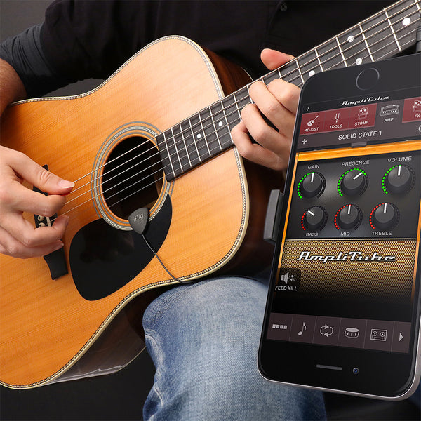 IK Multimedia iRig Acoustic Acoustic Guitar Microphone Interface