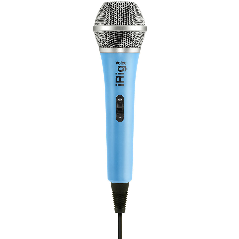 IK Multimedia iRig Voice Blue Microphone
