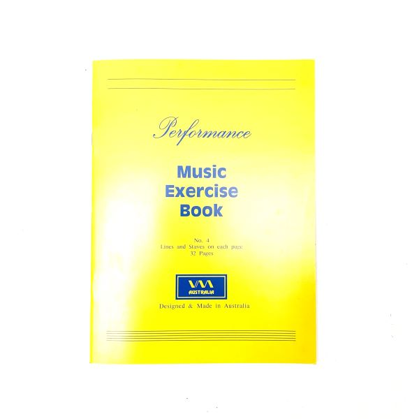 Performance Music Exercise Book