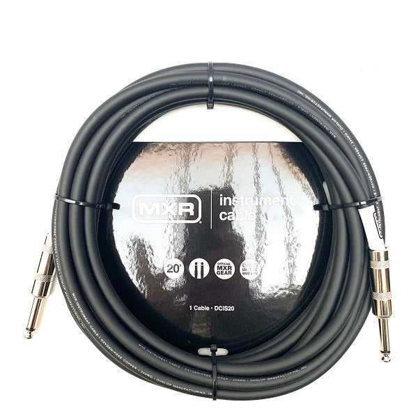 MXR DCIS20 Instrument Cable - 20ft / 6 meter