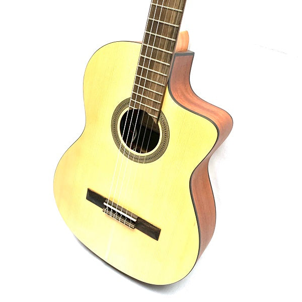 Protege by Cordoba C1M-CET Thinline Classical Guitar w/pickup