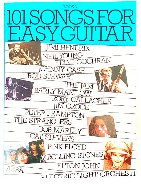 101 Songs for Easy Guitar Book 2
