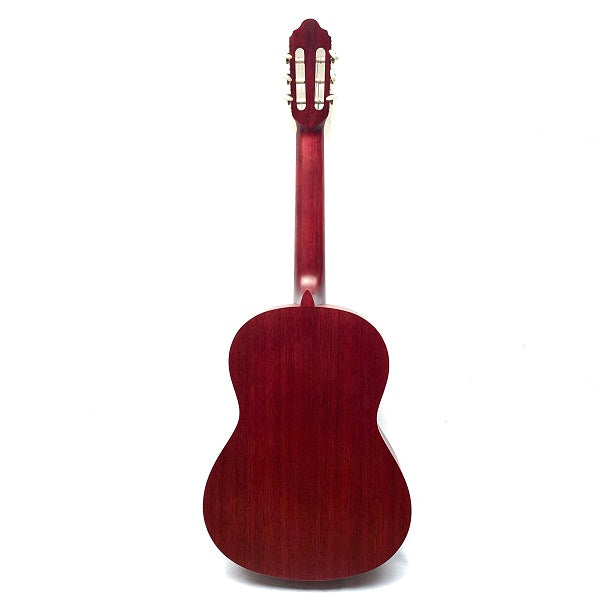 Valencia VC201TWR 1/4 Size Classical Guitar in Transparent Red