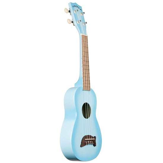 Makala MK-SD Soprano Dolphin Ukulele Light Blue Burst
