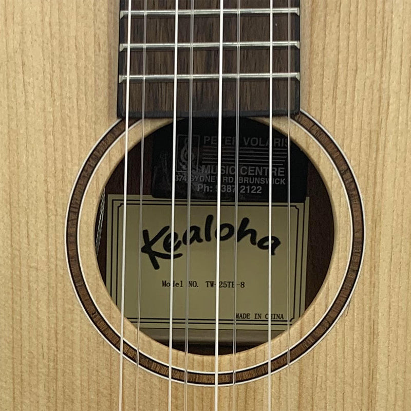 Kealoha KT-Series 8 String Tenor Ukulele w/pick-up