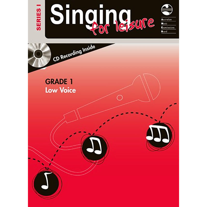 AMEB Singing for Leisure Series 1 Grade 1 - Low Voice